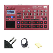 Korg ELECTRIBE2SRD Electribe Sampler in ESX Red with Accessories
