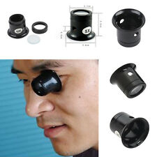 Jewellery Magnifier Loupe Eye Kits Tool Repair Eyepiece Jewellery Magnifier