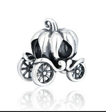 Carriage Charm - Genuine 925 Sterling Silver -
