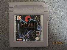 Batman: The Animated Series (Nintendo Game Boy, 1993) game only