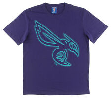 UNK NBA Mens Charlotte Hornets NBA High Def T Shirt Purple