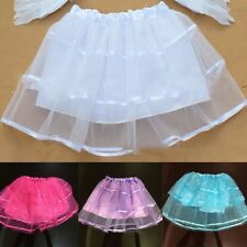 Stylish Girl Kid Tulle Tutu Skirt Ballet Puff Dance Dress Pettiskirt Dresses