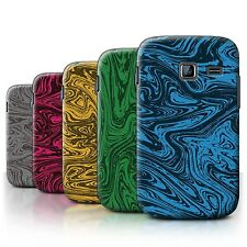 STUFF4 Case/Cover for Samsung Galaxy Y Duos/S6102/Melted Liquid Metal Effect