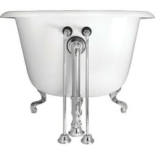 Elizabethan Classics EC SOSL CP Single Offset Bath Supply Polished Chrome