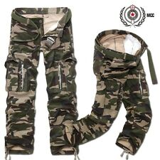 Military Cargo Pants Men Hot Camouflage  Cotton Men Trousers  7 Colors