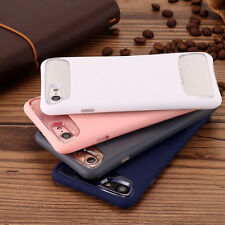 Hybrid Slim Armor Defender Grip Shockproof Case Cover For Apple iPhone 7 / Plus