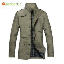 Fashion Thin Men Jacket Coat Hot Sell Casual Wear 5XL Korean Comfort Autumn Over