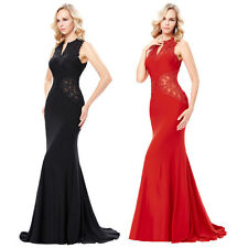 2017 Evening Mermaid Dress Formal Ball Gown Long Dresses Party Lace Pageant Prom