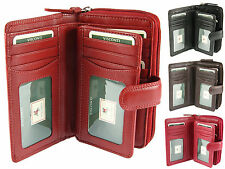 Visconti Large Multi Compartment Ladies Leather Purse Wallet In Gift Box - HT33