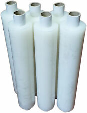 400mm X 250m Clear Pallet Wrap Shrink Stretch Film 17 Micron Rolls Extended Core