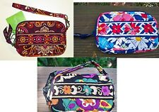 VERA BRADLEY Tech Case Camera Phone Wristlet Safari Summer Cottage Suzani