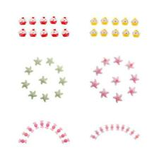 10x High Quality Chic Multi-Purpose Embellishment Flatback Appliques DIY Crafts