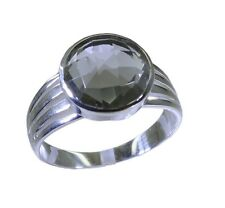 Green Amethyst 925 sterling silver likely supplies Ring Green L-1.2in UK K,M,O,Q