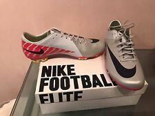 NIKE MERCURIAL VAPOR SUPERFLY III FG 9.5 10.5 US CARBON FIBRE SOCCER CLEATS CR7