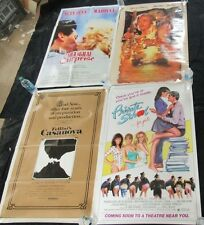 Lot (4) Original 1sh Movie Posters-Private School, Cutthroat Island G311