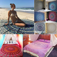 Queen Mandala Tapestry Bohemian Wall Hanging Hippie Beach Towels Throw Bedspread