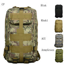 35L Hiking Camping Bag Army Military Tactical Trekking Rucksack Backpack Best US