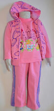 New Girl Princess three pieces winter sets Size 2,3,4