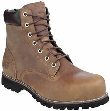 Timberland Pro Eagle Mens Safety Boots Steel Toe Cap Leather S3 Work Footwear