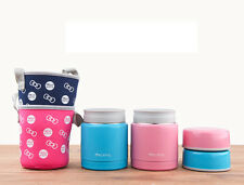 Stainless Steel Insulated Thermos Lunch Box Food Jar Container Thermal Soup Mug