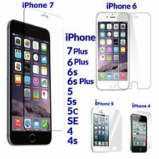 Tempered Glass Film Anti Scratch Screen Protector For iPhone 5/5S +6/6S/6S +7/7+