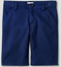 NWT CHEROKEE SHORTS SCHOOL UNIFORM NAVY BLUE YOUTH BOYS SIZE 4