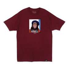 Primitive Skateboard Biggie Smalls Notorious BIG T-Shirt Burgundy