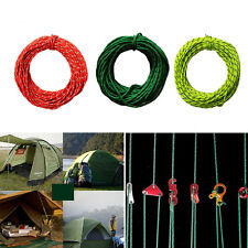 2.5MM 50foot Reflective Guyline Camping Tarp Tent Rope Line Cord Sp