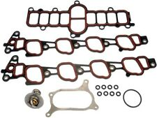 Gasket Kit Includes Plenum And Manifold Gaskets - Thermostat And Oring Fits Ford