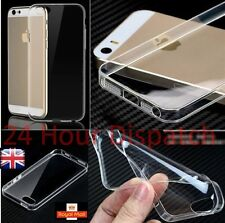 New Ultra Thin Silicone Gel Slim Rubber Soft Case For Iphone5/5s {ln330