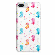 Watercolor Jelly Fish Slim Fit Phone Case Cover for iPhone Samsung