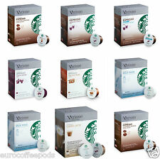 Genuine Starbucks Verismo Coffee, 12 Pods (Seven Flavours To Choose From)