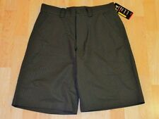 NEW MENS UNDER ARMOUR BENT GRASS GREEN EMBOSSED STRIPED GOLF SHORTS SIZE 30 $55