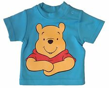 Official Disney Baby Winnie the Pooh T-shirt blue