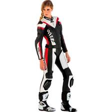 SPYKE Leather suit 2 pcs 4RACE DIV LADY SPORT TOURING black white red Size 38-42