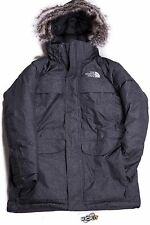 The North Face Mens McMurdo Parka Charcoal Grey A8XZ62X Size Large
