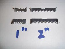 """100  NAILESS SAWTOOTH PICTURE FRAME HANGER NO NAILS!  1"""" or 2'"""