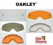 OAKLEY® BRAND PROVEN™ MX GOGGLE REPLACEMENT LENS TINTED DARK LIGHT MIRROR COLORS