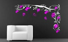 Flower Vine Butterfly Wall sticker Wall Decals & Stickers Living Room