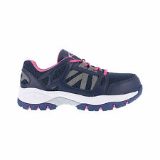 Knapp Womens Purple Leather Work Shoes ST Oxford Athletic