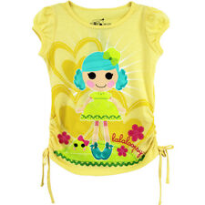 Lalaloopsy Girls Yellow Tee T-Shirt Top Q2379A