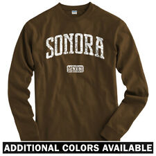 Sonora Mexico Long Sleeve T-shirt - LS Men S-4X  Gift Hermosillo Obregon Nogales