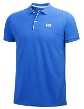 Helly Hansen Crew HH Classic Polo Racer Blue RRP £50 NEW