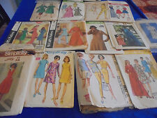 #4 ALL SZ 14 U PICK SEWING PATTERNS MORE THAN PICS VINTAGE 1950S 1960S 1970S