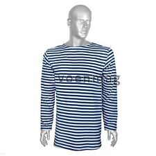 Russian Army VDV Navy Airborne blue striped T-shirt Telnyashka summer type