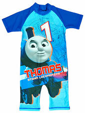 Boys Swimsuit Surf Thomas The Tank Engine Sunsafe Costume Kids 1.5 to 5 Years