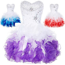 Retro Cocktail Party Homecoming Formal Bridesmaid Prom Short Tutu Womens Dress;