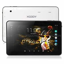 10.1'' Android Tablet PC XGODY Quad Core Dual camera 16GB WIFI Bluetooth HDMI