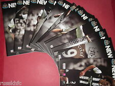 2011/12 NEWCASTLE HOME PROGRAMMES CHOOSE FROM