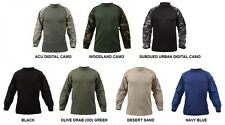 Military Style COMBAT SHIRT Army Marine Corps Navy USAF USMC Paintball Hunting